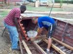 Preparing the boat for Zebulun