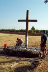 Working at the foot of the Cross
