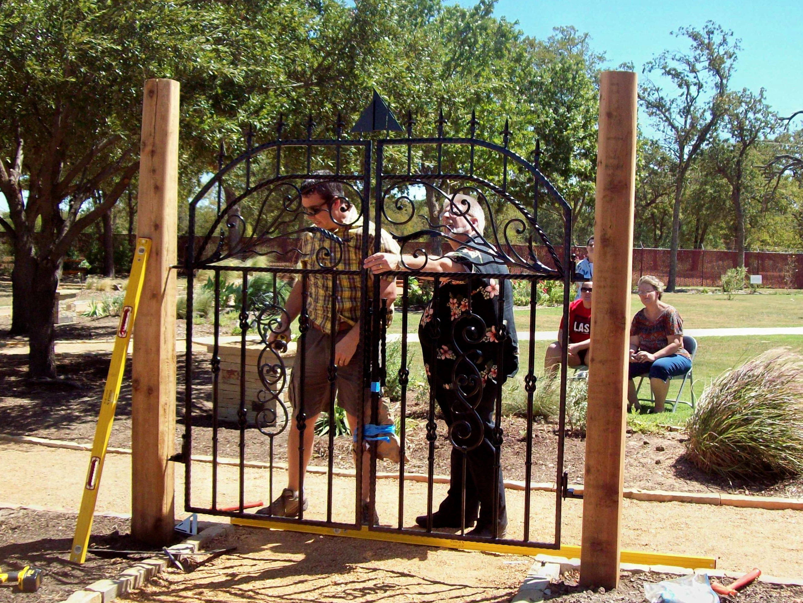 Kenny Tapp, gate designer and builder | Beulah Acres